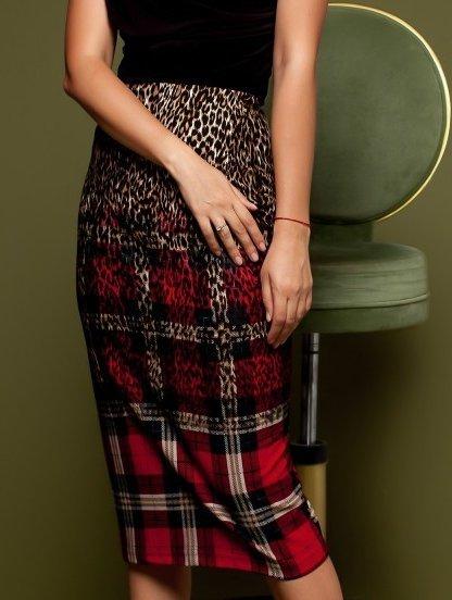 Стильная офисная юбка, коллекция 2019, фото 1