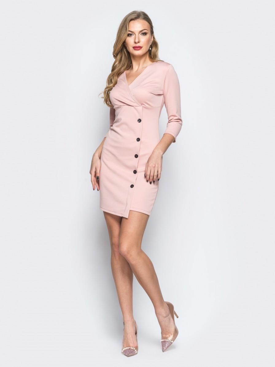 купить розовое платье в интернет магазине