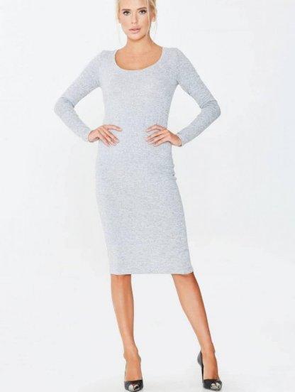 Трикотажное спортивное платье под кроссовки, фото 1