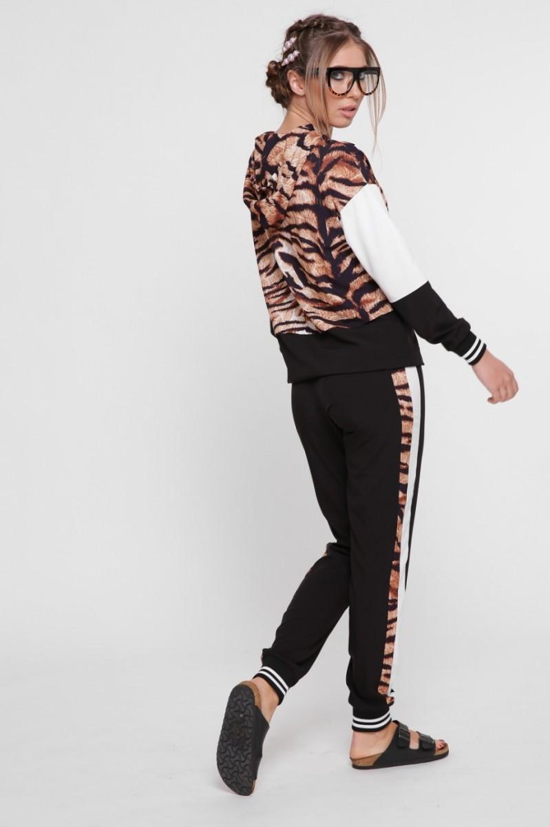 fe1ad7e30ee Костюм с леопардовым принтом и зауженными штанами. Купить в Киеве по ...
