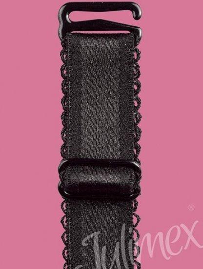 Широкие Черные бретели для бюстгальтера 16мм, фото 1