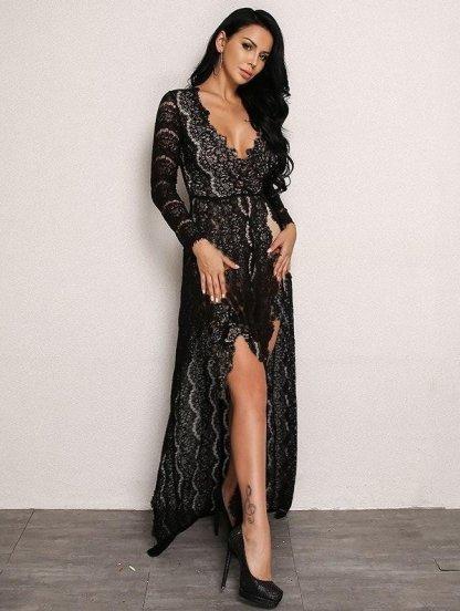 Гипюровое нарядное платье, фото 1