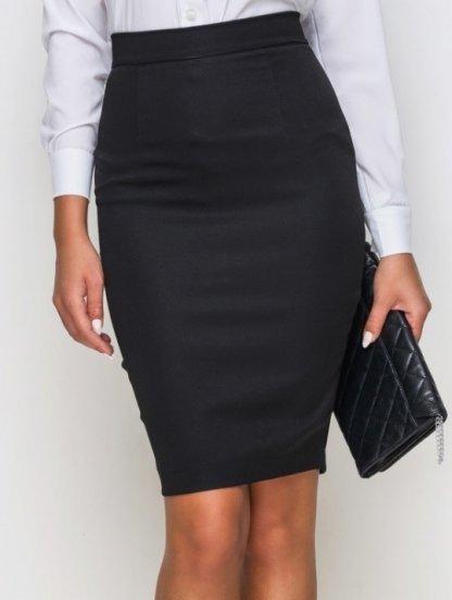 Высокая юбка до колен, фото 1