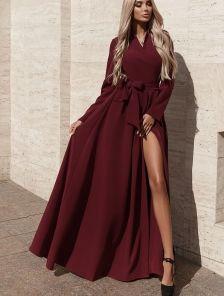 Нарядное вечернее платье в пол