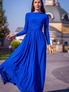 Длинное платье с длинным рукавом на маленький рост