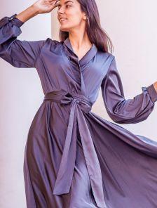 Длинное платье для полных большого размера