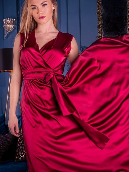 Нарядное шелковое платье, фото 1